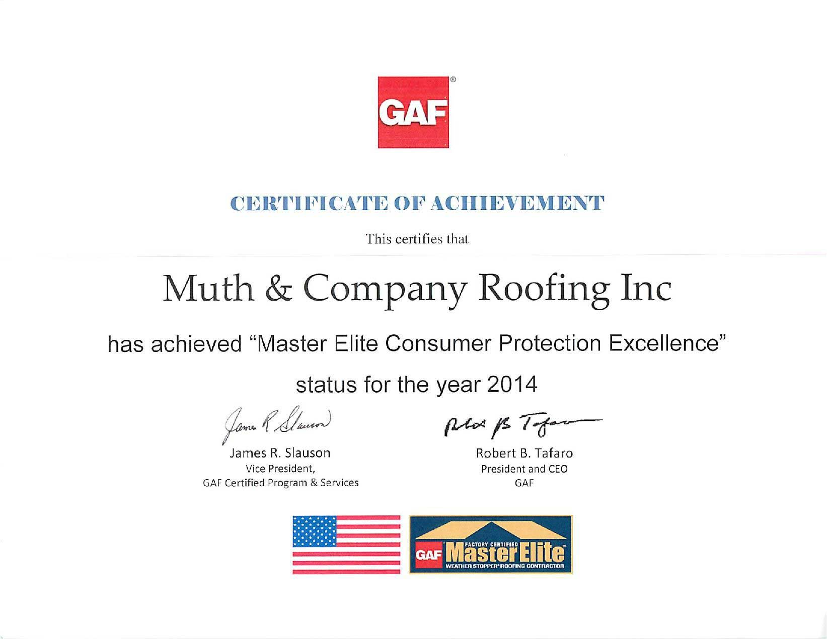 GAF-Master-Elite-Consumer-Protection-Excellence-Certificate-2014-page-compressor