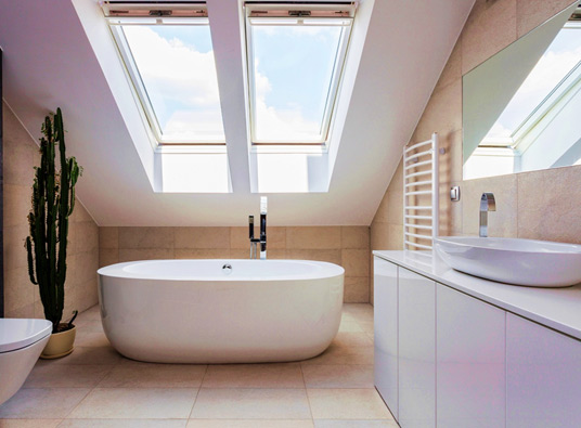 Is Skylight And Sun Tube Repair Worth The Cost - Bathroom leak repair cost