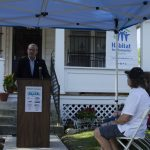 Monday Marked the Kick-Off for Habitat for Humanity's Home Repair Blitz!