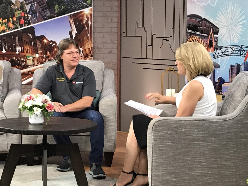 Chad Muth on NBC4 Daytime Columbus Discussing Roofing
