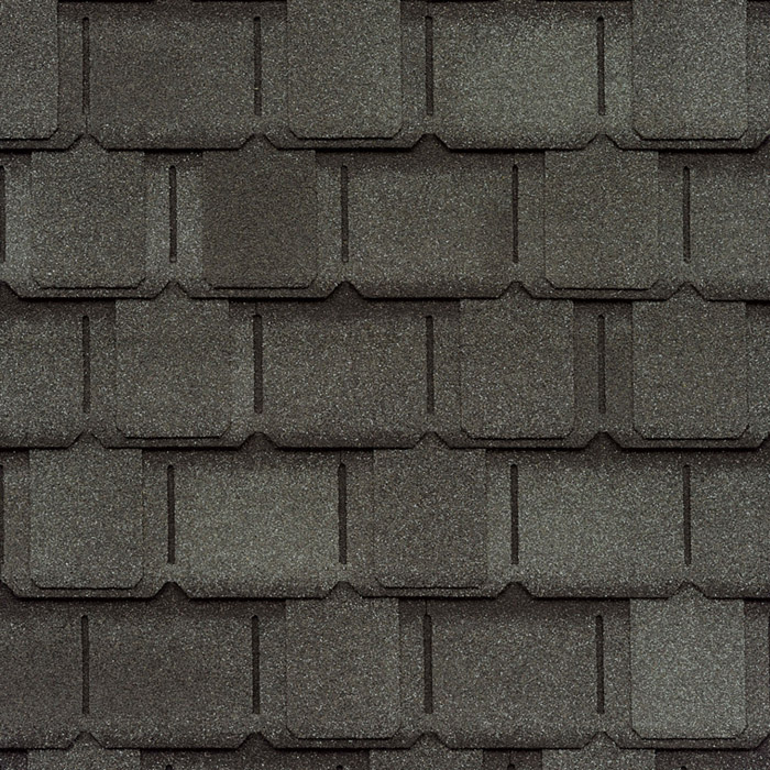 GAF's Camelot II Antique Slate shingle swatch
