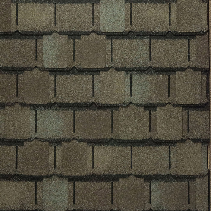 Camelot II - Weathered Timber Shingle Swatch