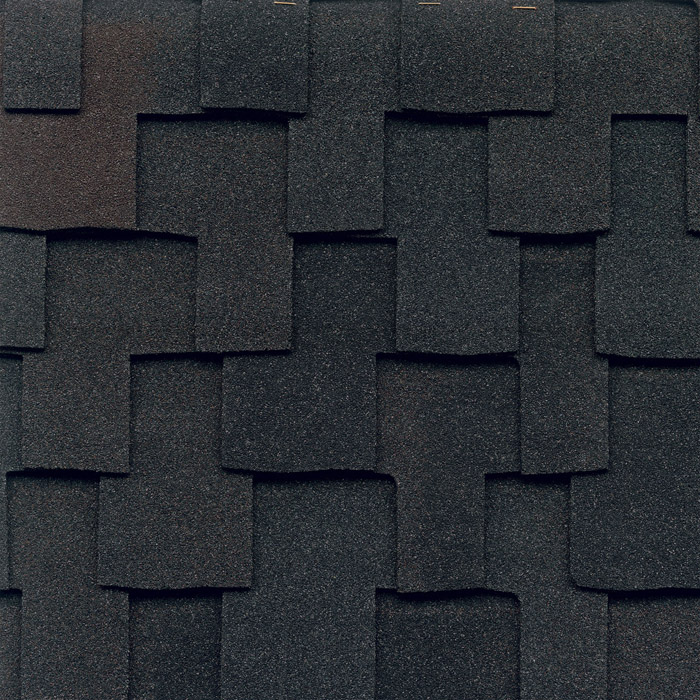 GAF's Grand Canyon Black Oak shingle swatch