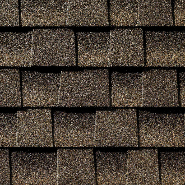 GAF's Timberline Armor Shield II Barkwood shingle swatch
