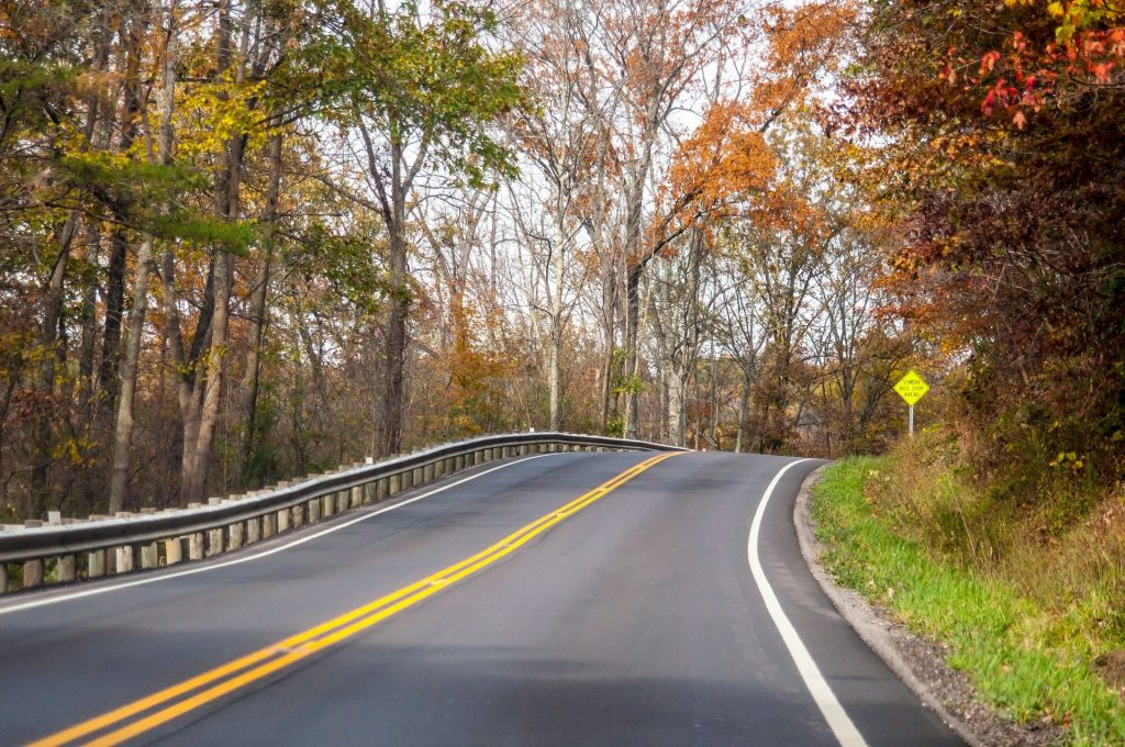 Hocking HIlls Byway fall colors